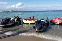 Piranha Center le moto d'acqua