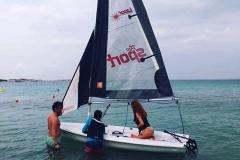 piranha center lezione barca a vela