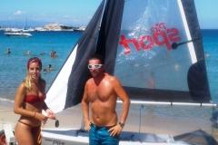 piranha center barca a vela