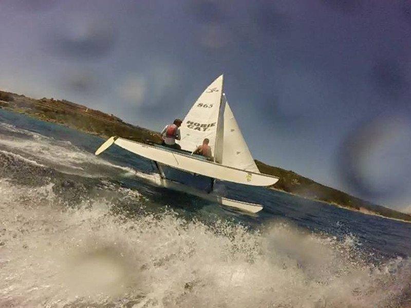 """Immagine di Corsi di catamarano """"Hobie cat 16"""""""