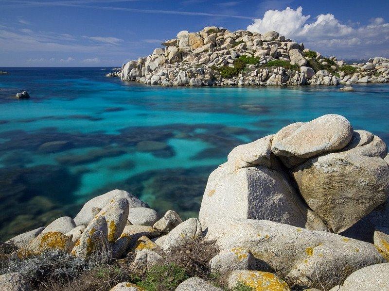 """Immagine di In Gommone sulle isole della """"Corsica"""""""